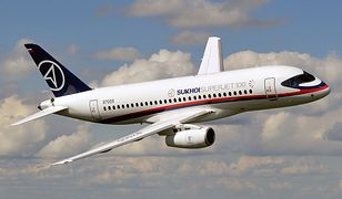 Rosyjski samolot SSJ-100