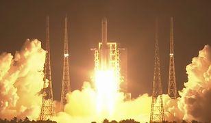 Chang Zheng 5 udanie wyniosła na orbitę satelitę Shijian 20