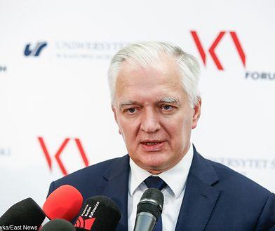Jarosław Gowin skomentował list byłych ambasadorów do Donalda Trumpa
