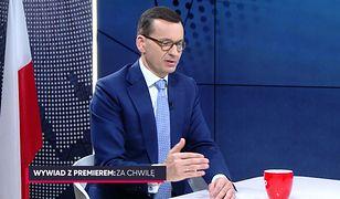 Wywiad z Mateuszem Moarwieckim w Telewizji WP. Premier odpowiedział na Wasze pytania
