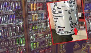 Skład energetyków? Wszystko, co szkodzi: cukier, dwutlenek węgla, tauryna, kofeina, regulatory kwasowości, barwniki i aromaty.