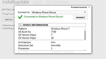 "WP7.5 - ""złe"" aplikacje - Windows Phone Power Tools"