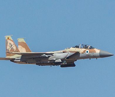 Izraelscy piloci nie pierwszy raz lądowali uszkodzonymi F-15