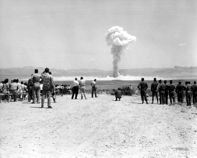 W latach 50. Amerykanie testowali broń jądrową na własnych obywatelach