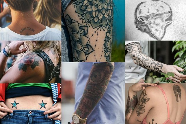 Ciekawe wzory na tatuaże