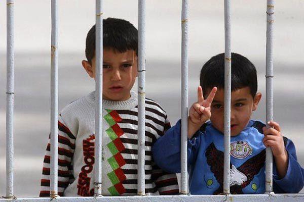 Syryjskie dzieci w obozie uchodźców w Turcji