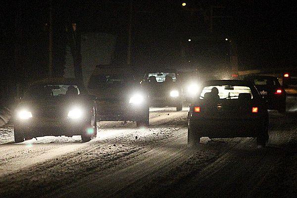 """Trudne warunki drogowe na """"zakopiance"""""""