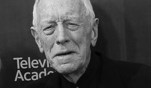 Max von Sydow miał 90 lat