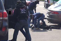 Wybuch na stacji benzynowej. CBŚP zastawiło zasadzkę na gang (WIDEO)