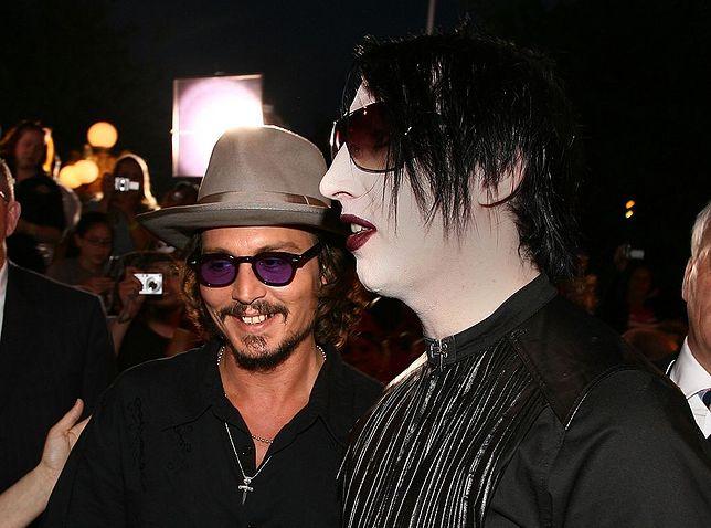 Johnny Depp i Marilyn Manson
