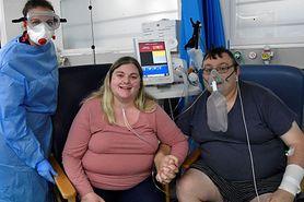 Wzięli ślub w szpitalu. Oboje byli zakażeni koronawirusem