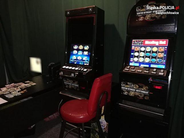 Świętochłowice. Trzy automaty do gry wpadły w ręce policjantów.