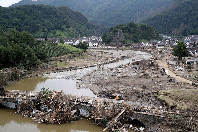 Niemcy. Tragiczne powodzie