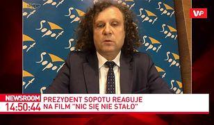 """""""Nic się nie stało"""". Reakcja prezydenta Sopotu. Jacek Karnowski o """"królestwie koksu i botoksu"""""""