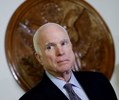 Rak mózgu został zdiagnozowany u amerykańskiego senatora Johna McCaina w lipcu 2017 r.