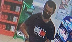 Jarosław. Napadł na sklep i groził kasjerce nożem. Policja prosi o pomoc w poszukiwaniach