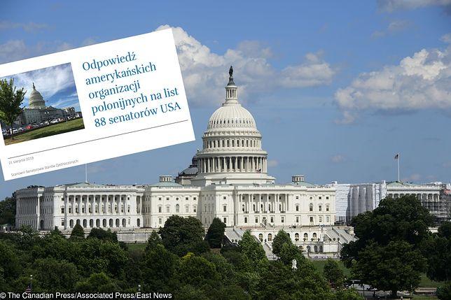 USA. Amerykańska Polonia pisze list do senatorów ws. restytucji mienia