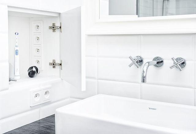 Aranżacja łazienki w bieli