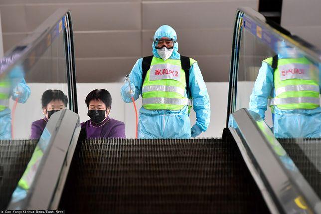 Koronawirus. Epidemia wśród pracowników chińskiej służby zdrowia
