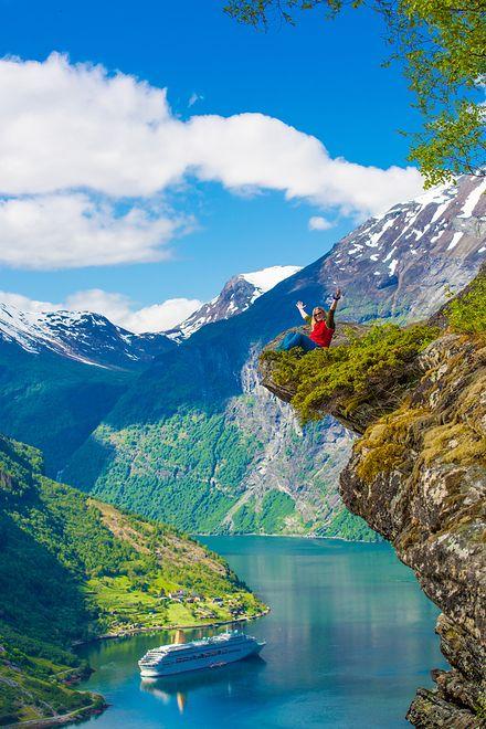 Atrakcje Norwegii - szlak Geiranger-Trollstigen