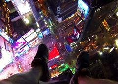 Śmiały wyczyn nowojorskiego fotografa