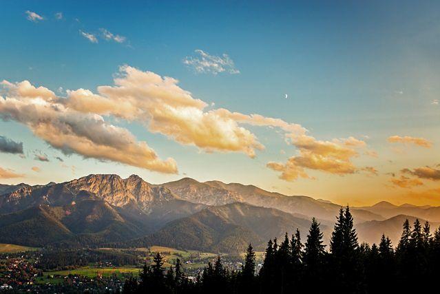 Gubałówka, Panorama Tatr (fot. Nightman1965 / Shutterstock)