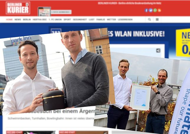 Firma Robina Klemma i Christopha Basnera jest jedną z najszybciej rozwijających się na rynku usług pogrzebowych w stolicy Niemiec