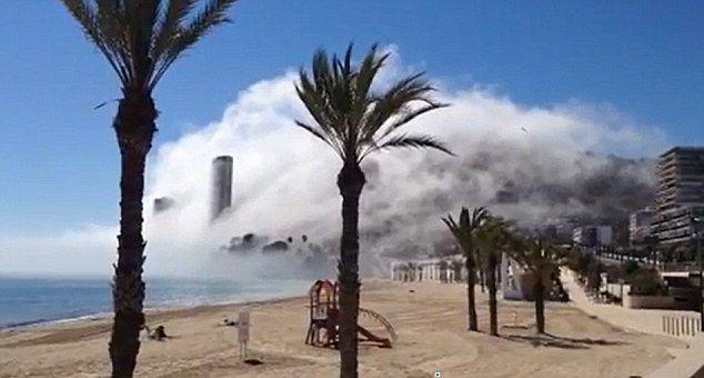 Hiszpania - wyjątkowe zjawisko na plaży w Alicante