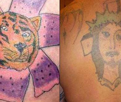 Dałbyś się tak oszpecić? Te tatuaże są okropne!