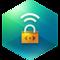 Kaspersky Secure Connection: VPN service icon