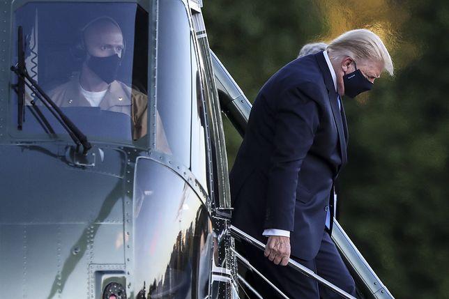 Donald Trump i jego żona są zakażeni koronawirusem