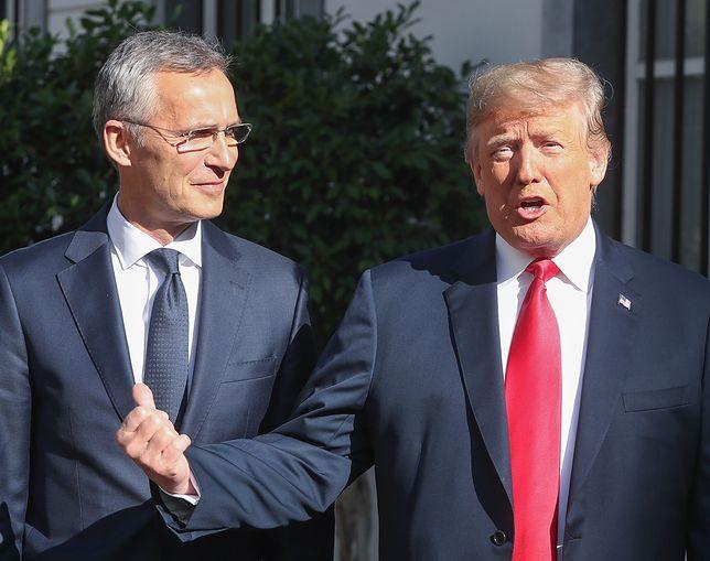 Donald Trump: Polska nie chce być zniewolona przez Rosję tak jak Niemcy. Burzliwy start szczytu NATO.