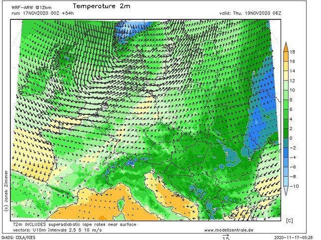 Pogoda. Czwartek ostatnim dniem z temperaturą powyżej 10 st. C, nie wszędzie