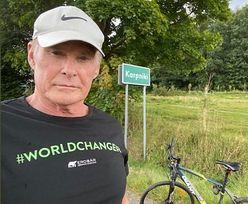 David Hasselhoff w Polsce. Światowa gwiazda nocuje w luksusowym pałacu