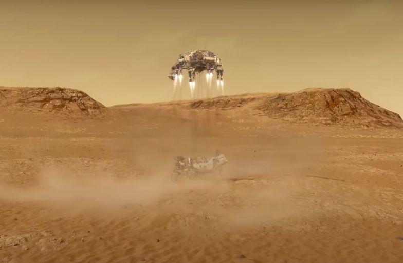 Łazik wyląduje na Marsie. Oto najważniejsze godziny