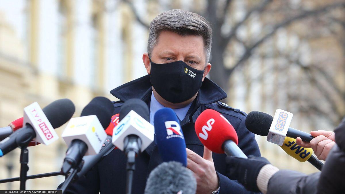 Konferencja prasowa szefa KPRM Michała Dworczyka i prezesa RARS. Będzie mniej szczepionek