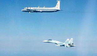 Zdjęcie rosyjskich samolotów wykonali nad Bałtykiem piloci dyżurnych myśliwców RAF