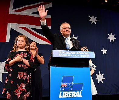 Premier Australii Scott Morrison