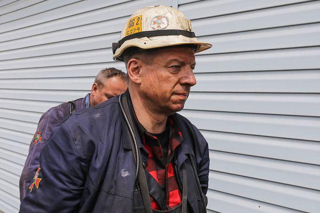 Ratownik w kopalni Zofiówka w maju 2018 r.