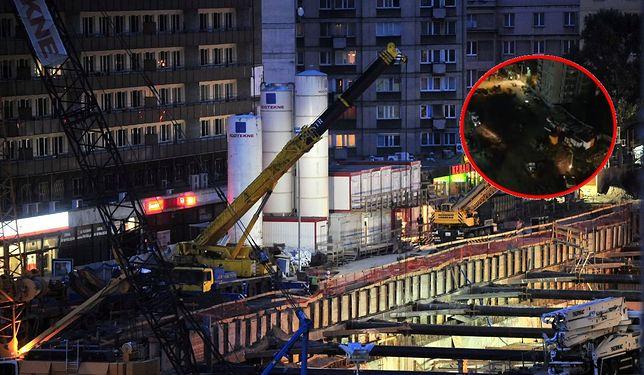 Warszawa. Hałas na budowie II linii metra
