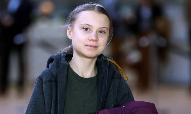 Aktywistka ekologiczna Greta Thunberg.