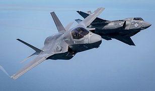 Pilot F-35B wylądował w wyjątkowym stylu