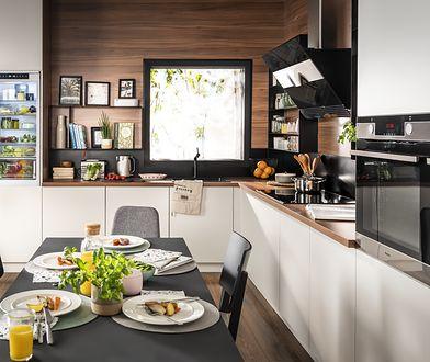 Nowoczesna kuchnia wypełniona urządzeniami z serii Amica X-Type