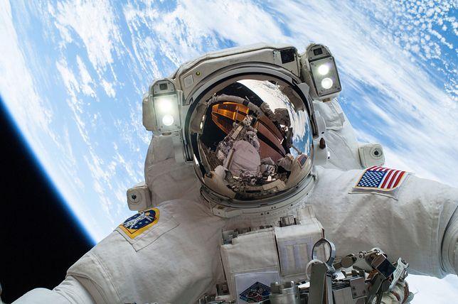Selfie w kosmosie
