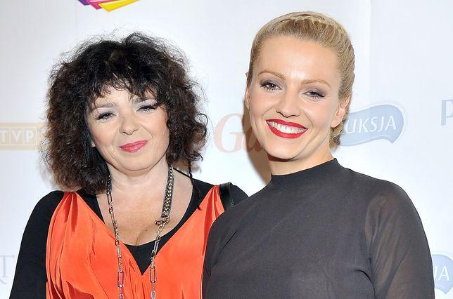 Katarzyna Grochola z córką