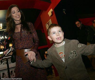 Zobaczcie, jak dorastał syn Natalii Kukulskiej. Jan kończy już 18 lat