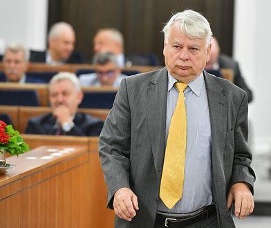 Kancelaria Senatu opublikowała wykaz lotów byłego marszałka Senatu Bogdana Borusewicza
