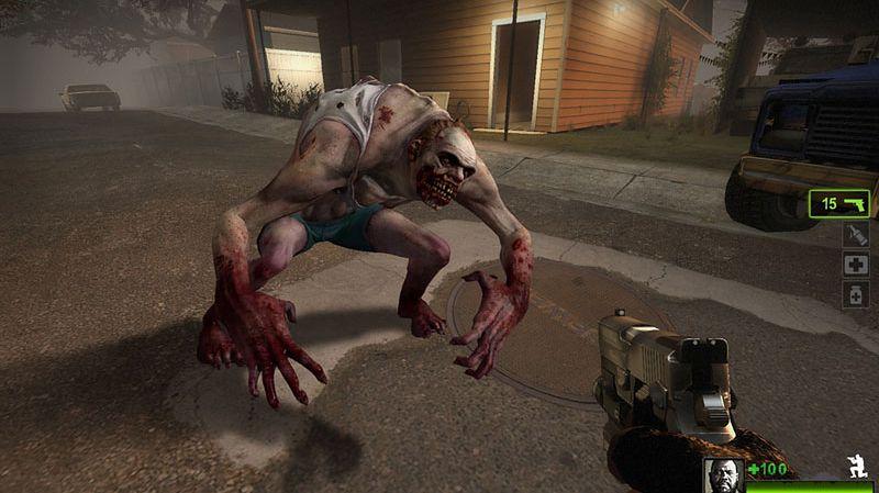 Dżokej z Left 4 Dead 2 wygląda tak...