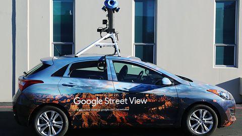 Nowe auta Google Street View: 7 kamer, LIDAR i czytanie otoczenia