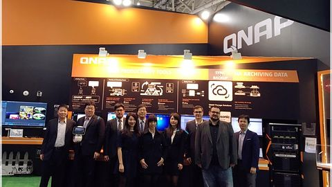 QNAP na Cebicie: NAS z Thunderboltem 3, robot i Internet Rzeczy